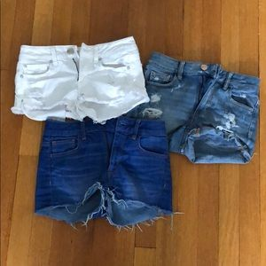 Bundle of AE Jean Shorts